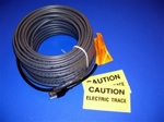 16 watt/foot, 120 volt, preassembled, roof & gutter plug-in self regulating heater cable - 75'