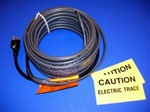 16 watt/foot, 120 volt, preassembled, roof & gutter plug-in self regulating heater cable - 50'